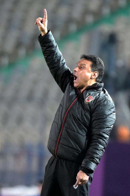 Egypt's al-Ahly head coach Hossam el-Badry (AFP)