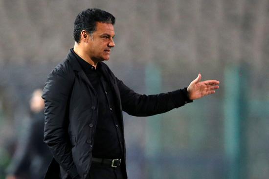Zamalek coach Ehab Galal (Reuters)