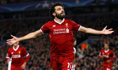 Liverpool's Mohamed Salah named PFA Fans' Player of the Month