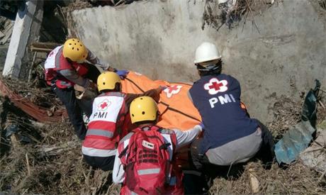 Indonesia rescuing