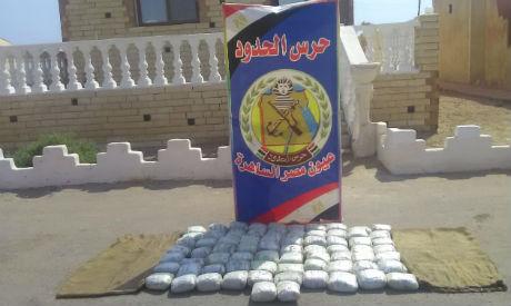 Egypt foils smuggling of drugs