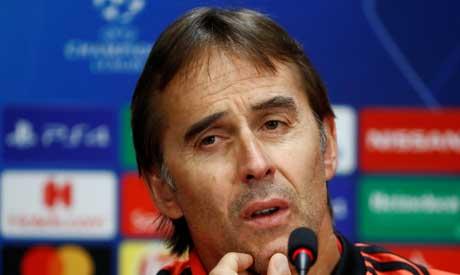 Real Madrid coach Julen Lopetegui (Reuters)