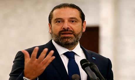 Lebanese Prime Minister-designate Saad al-Hariri