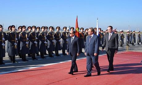 El-Sisi in Russia