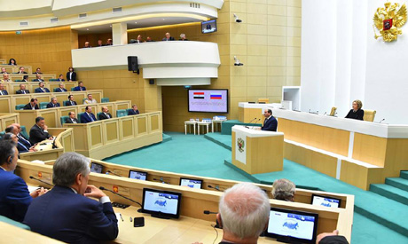Sisi in Russian Federation council
