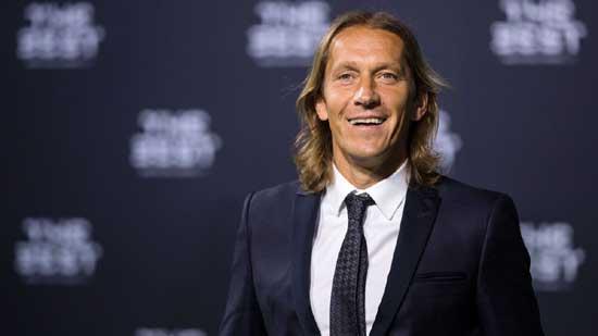 Egypt's assistant coach Michel Salgado