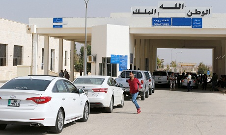 Jaber border crossing checkpoint