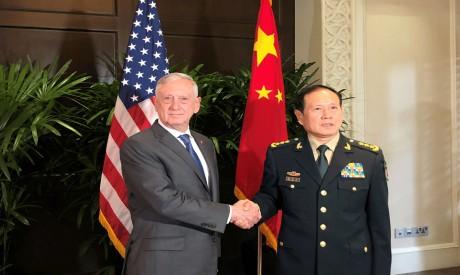 Jim Mattis, Wei Fenghe