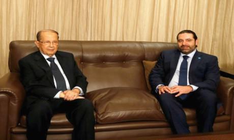 Michel Aoun, Saad al-Hariri