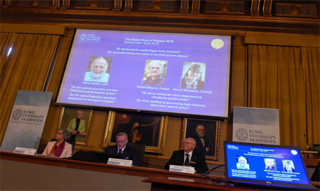 The Nobel Prize laureates for physics 2018