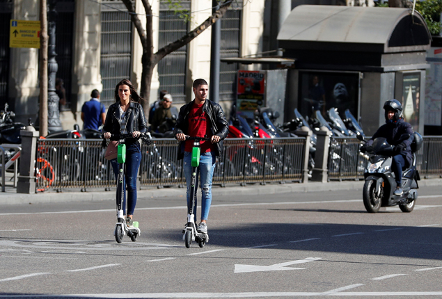 PHOTO GALLERY: Madrid bans electric scooters from city
