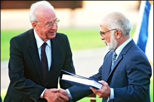 Yitzhak Rabin, King Hussein