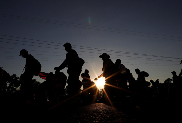 PHOTO GALLERY: Central American migrants on the