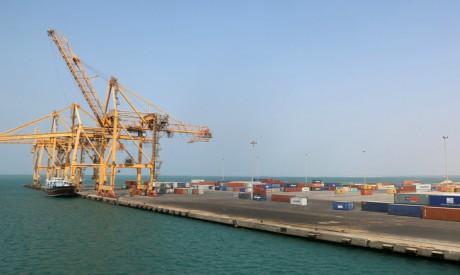 Hodeida port