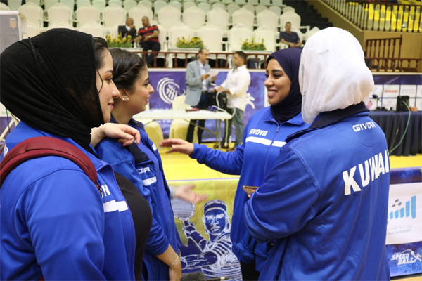 Kuwait Speedball team