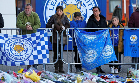 Leicester City owner's helicopter crashes outside King Power Stadium after game