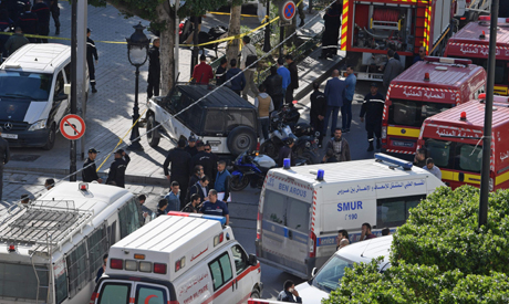'Woman blows herself up' in Tunis
