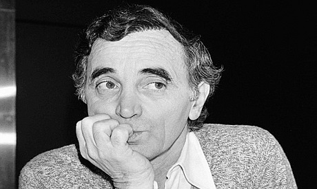 Charles Aznavour, 14 January 1980 in Paris (Photo: AFP)