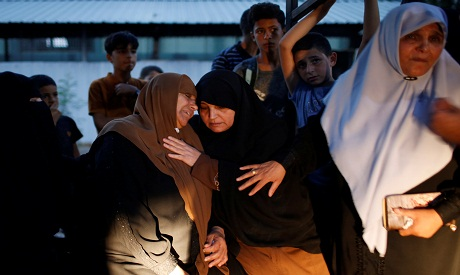 Mother of a Palestinian who was killed by Israelis