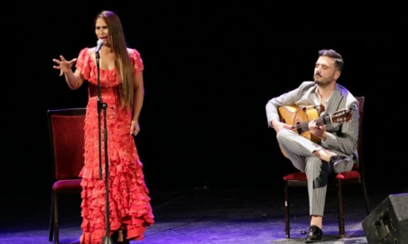 Ahram Online - The flamenco effect with Riki Rivera and Antonia