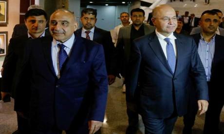 Barham Salih, Adel Abdul-Mahdi