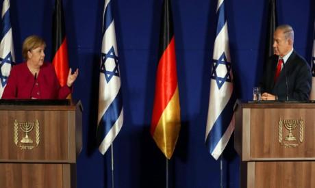 Angela Merkel, Benjamin Netanyahu