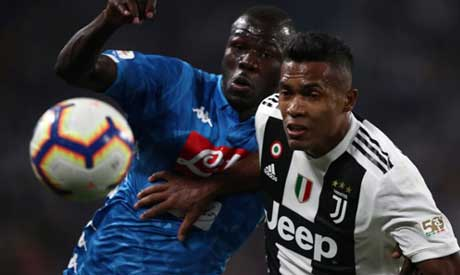 Juventus fans abused racially abused Napoli