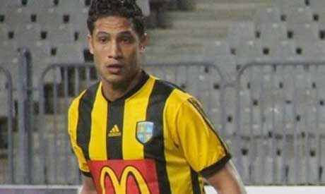 Contractors striker Ahmed Ali (Al-Ahram)