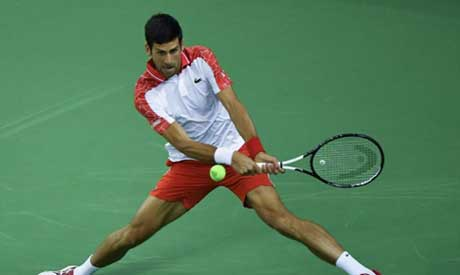 Novak Djokovic goes into round three in Shanghai after beating Frenchman Jeremy Chardy 6-3, 7-5 (AFP