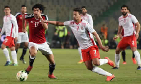 7e8d1049c952f9 RELIVE  Egypt v Tunisia (2019 African Nations Cup qualifiers ...