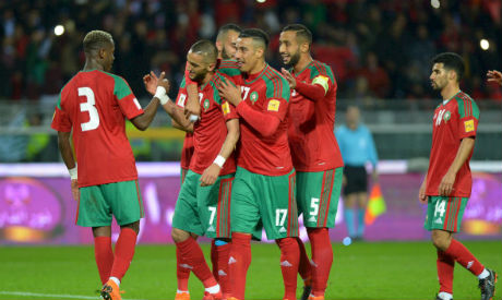 huge selection of acaea 637ca Morocco all but seal Nations Cup place with 2-0 win over ...