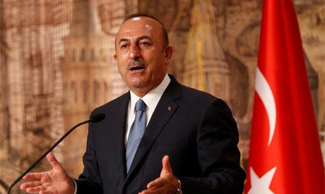 """FM Cavusoglu """"Reuters"""""""