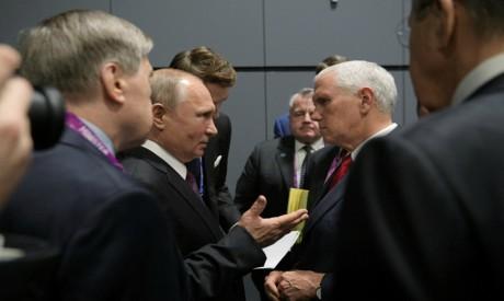 Vladimir Putin, Mike Pence