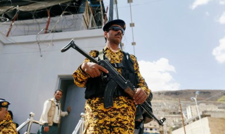 Police trooper, Yemen