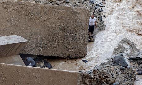 Floods in Jordan