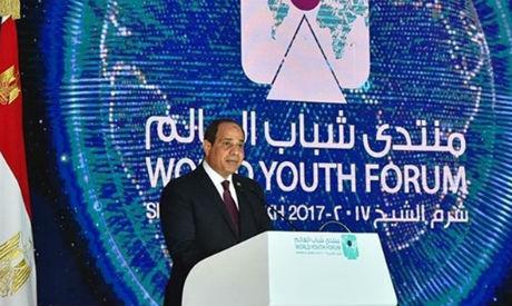 El-Sisi at WYF