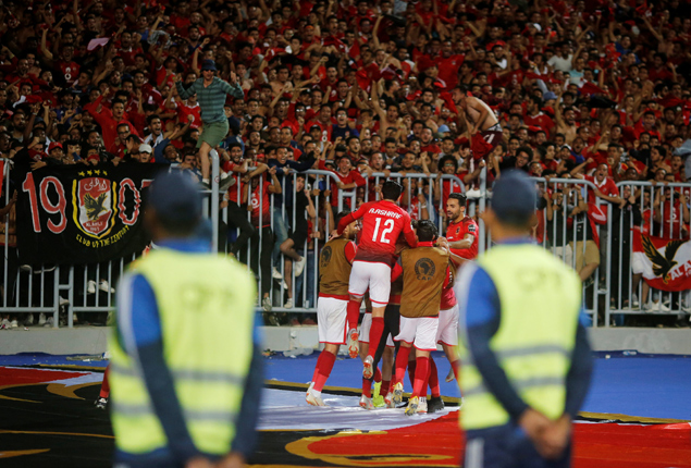PHOTO GALLERY: Ahly defeat Tunisia