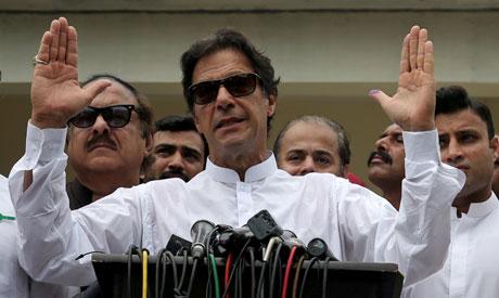 Pakistan Prime Minister Imran Khan (Reuters)