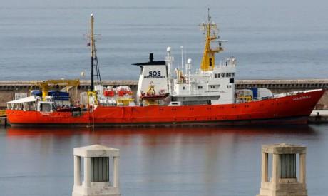Aquarius rescue ship