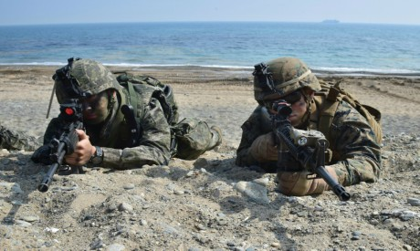 Foal Eagle exercises