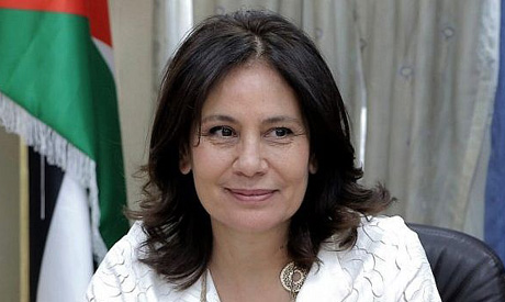 Jordan's Minister of Energy and Mineral Resources Hala Zawati (AFP)