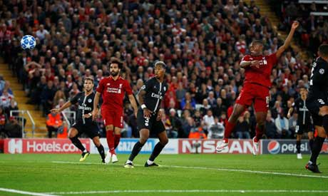 Paris St Germain vs Liverpool