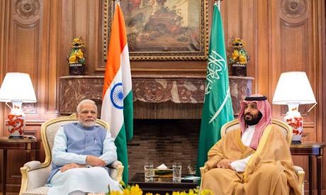 Mohammed bin Salman, Narendra Modi