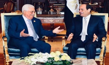 Abdel-Fattah Al-Sisi, Mahmoud Abbas