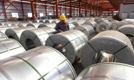 Aluminium rolls, China