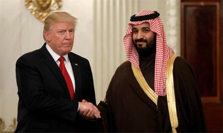 Bin Salman, Trump
