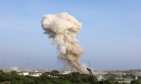 Bombing in Somali Capital