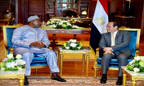 Sisi and President of Gambia