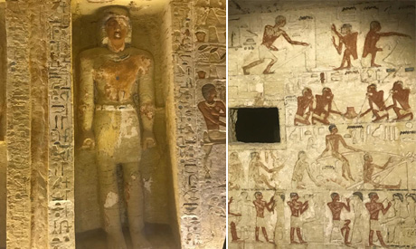 Egypt discovers 4000 year old tomb
