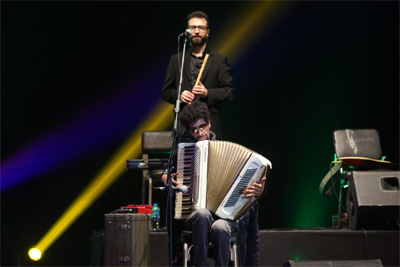 Wael El-Sayed with Cairo Steps